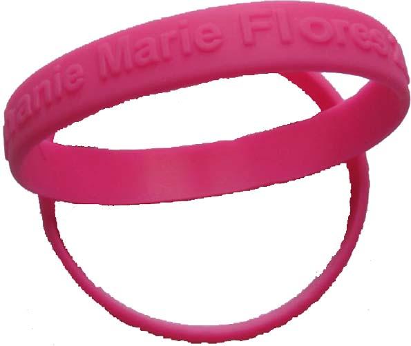 Awareness Silicone Bracelets   Custom Silicone Bracelets